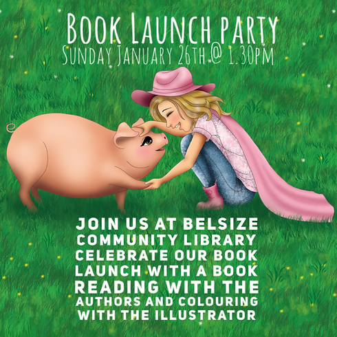 BOOK LAUNCH 'Livi and The story of the Sausage roll'