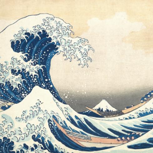 Hokusai's Great Wave Children's Art Workshop