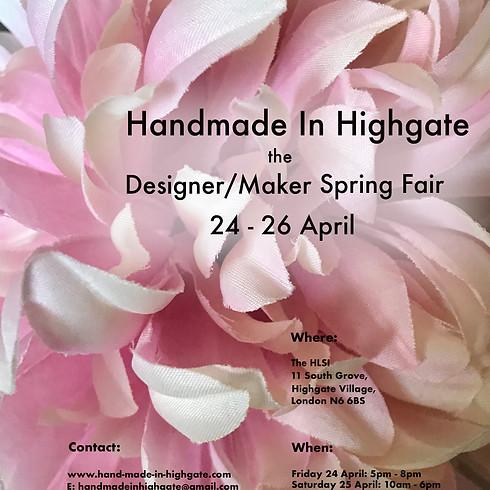 Handmade In Highgate SPRING FAIR