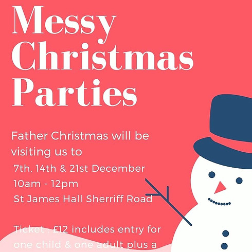 Messy Chameleon's 'MESSY CHRISTMAS PARTIES'