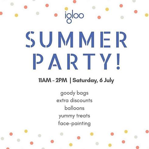 SUMMER PARTY at Igloo