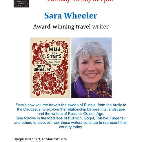 Sara Wheeler at Primrose Hill Library