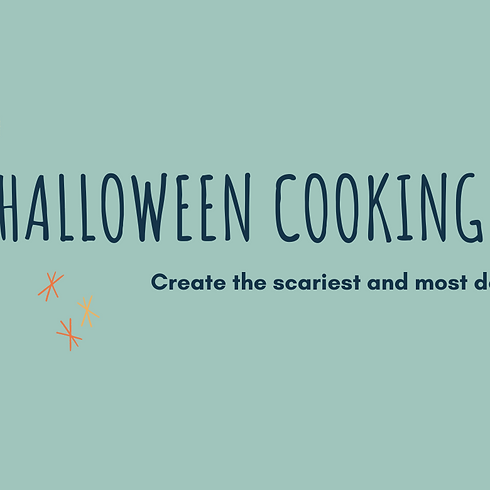 HALLOWEEN COOKING CLASS with Pasta&Play