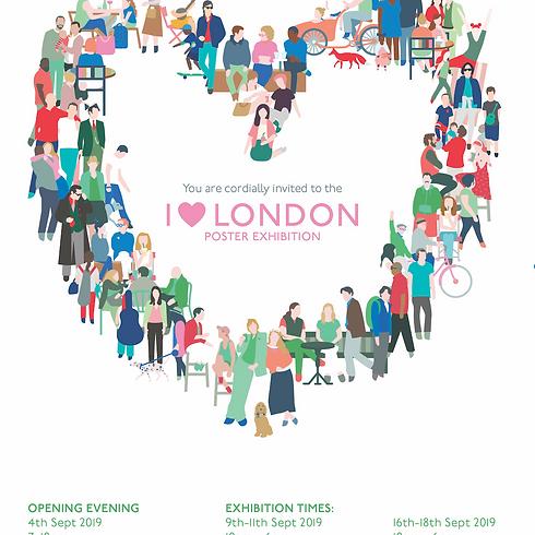I 💗 London Exhibition