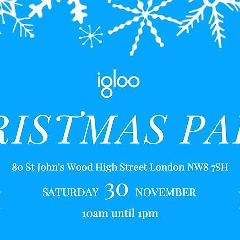 Christmas Party at Igloo, St John's Wood