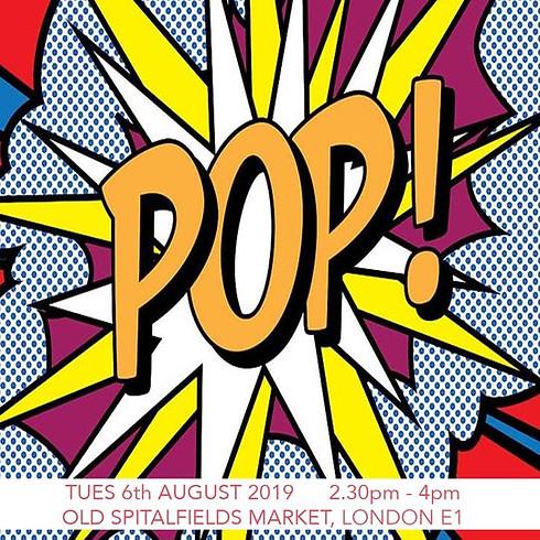 Design a Pop Art T-shirt - Children's Workshop
