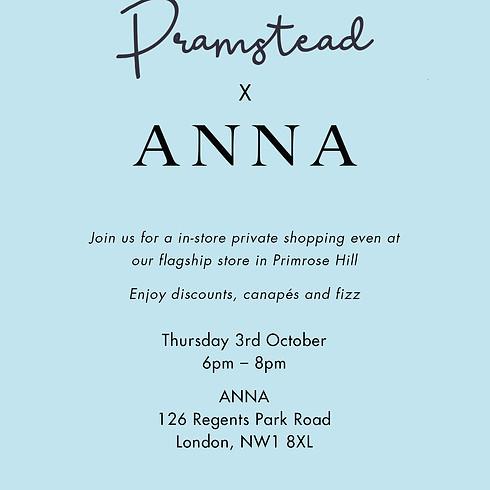 Private Shopping Event X ANNA