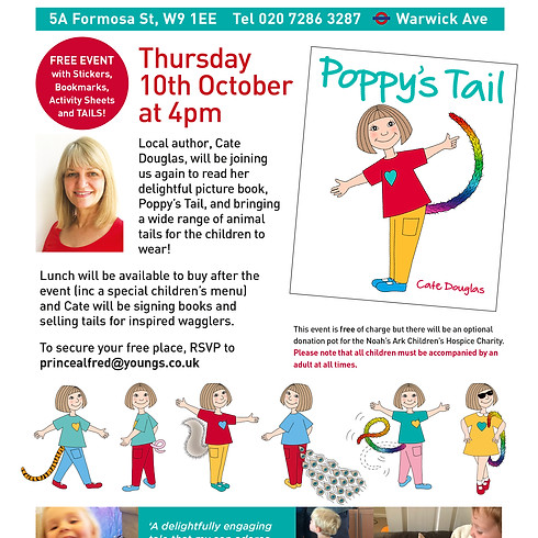 Poppy's Tail Children's Storytime & Booksigning