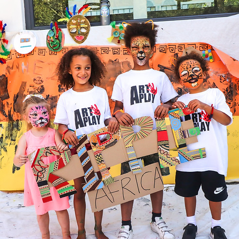 Be The Change Fundraising for Ripple Africa ART WORKSHOP