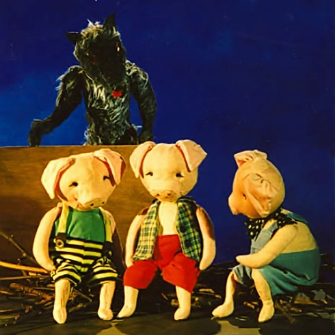 'The Three Little Pigs plus Captain Grimey' PUPPET THEATRE