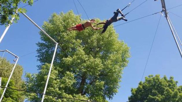 Gorilla Circus Flying Trapeze School