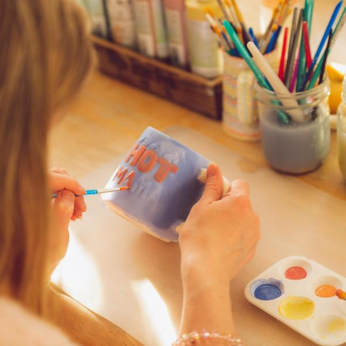 Decorate a mug for Father's Day