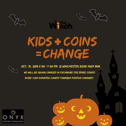 Kids + Coins = Change