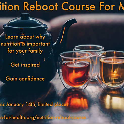Nutrition Reboot Course for Mums