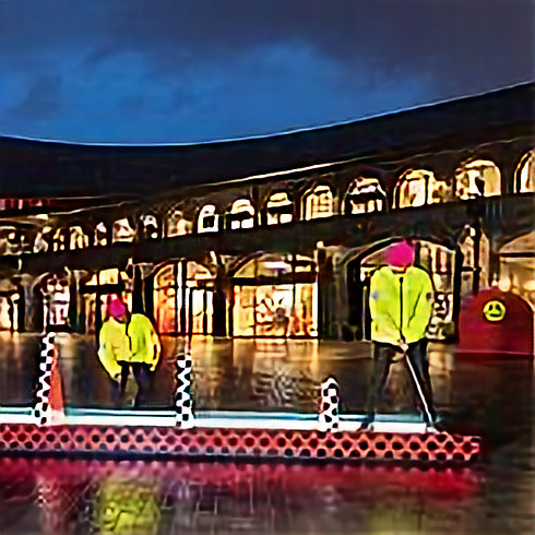 Crazy Golf at King's Cross