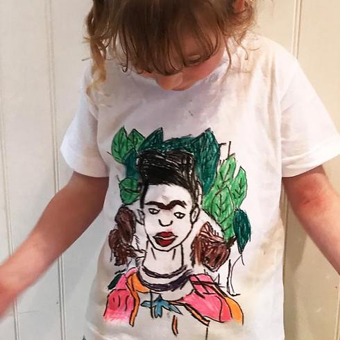 Dot Kids Workshops: Design a Frida Kahlo T-shirt