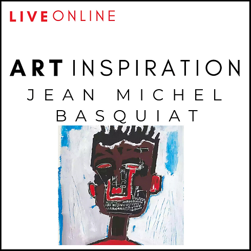 Interactive Art Workshop - Jean Michel Basquiat
