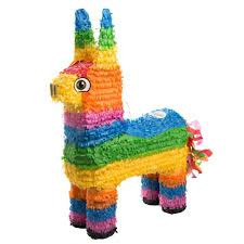 Piñatas at children's birthday parties