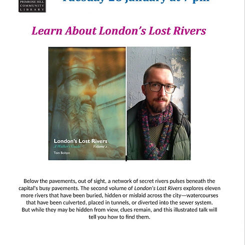 Learn About London's Lost Rivers