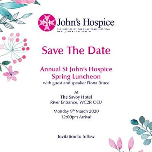 St John's Hospice SPRING LUNCHEON