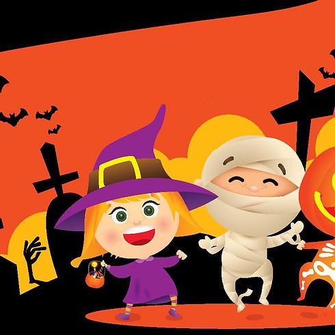 Kids Halloween Brunch Party at Shaka Zulu