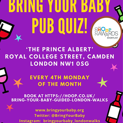 'BRING YOUR BABY' PUB QUIZ - Camden