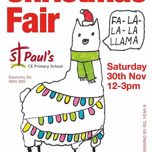 St Paul's CE Primary School 'Christmas Fair'