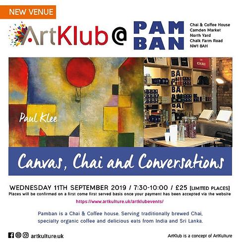 'Canvas, Chai & Conversations' ART KLUB at PAMBAN