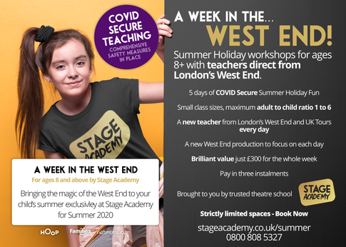 Stage Academy Summer Holiday Courses