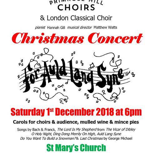 Auld Lang Syne Christmas Concert