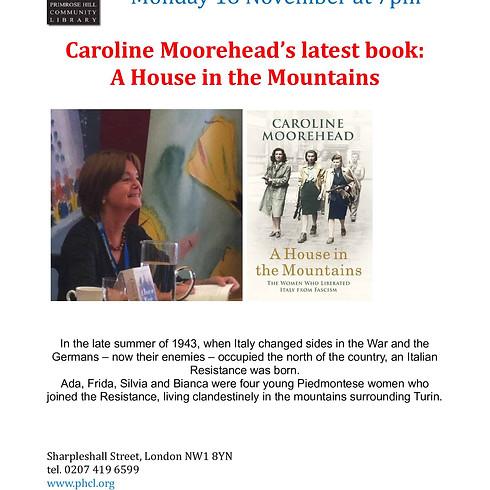 Caroline Moorehead -BOOK READING & SIGNING