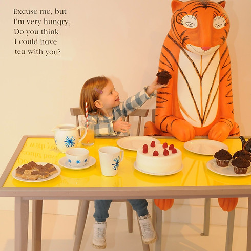 The Tiger Who Came to Tea & the adventures of Mog the Forgetful Cat