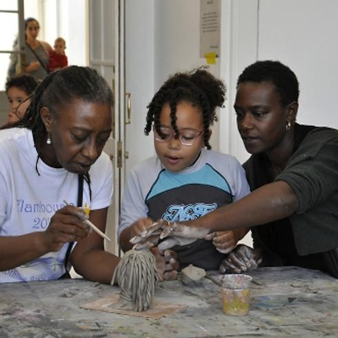 Family Takeover led by Artist-in-Residence Lateisha Davine Lovelace-Hanson