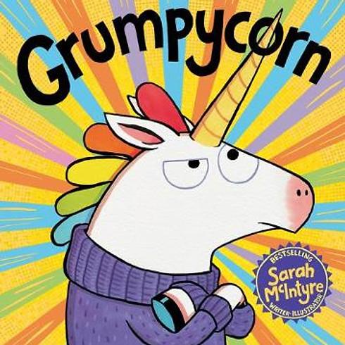 Grumpycorn Drawing Fun with Sarah McIntyre