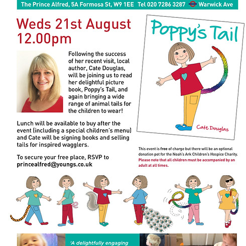 'Poppy's Tail' Book Reading & Meet The Author