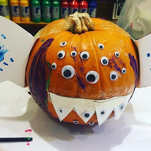 Halloween Art Workshops (via zoom)