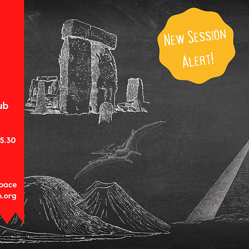 'Global Mysteries Solved' HALF TERM SESSIONS!