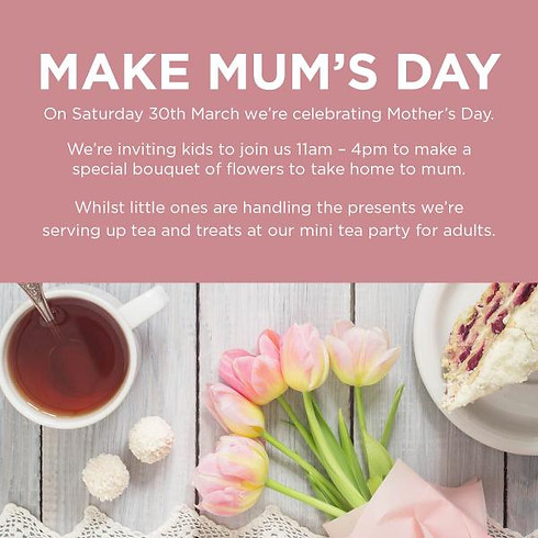 Mother's Day Celebrations at the O2 Centre