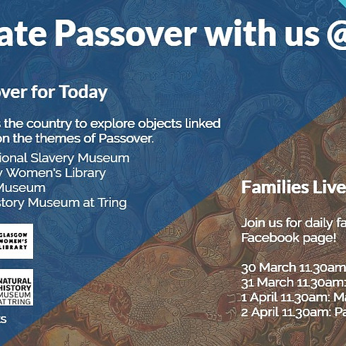 Celebrate Passover with the Jewish Museum