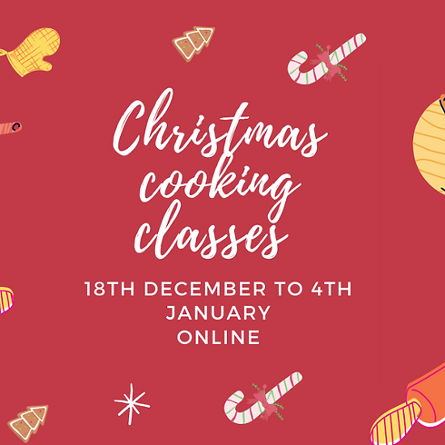 Christmas cooking classes