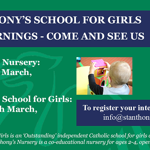 St. Anthony's School for Girls Open Day