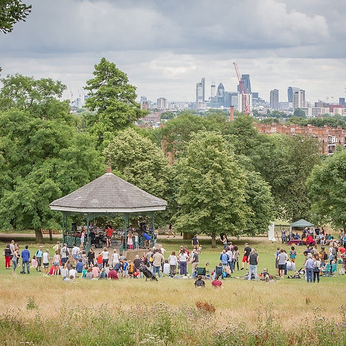 'Give It A Go' Festival Hampstead Heath