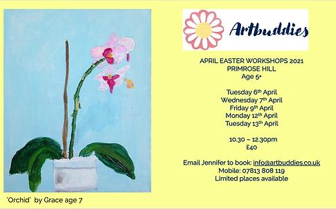 Artbuddies Easter Workshops