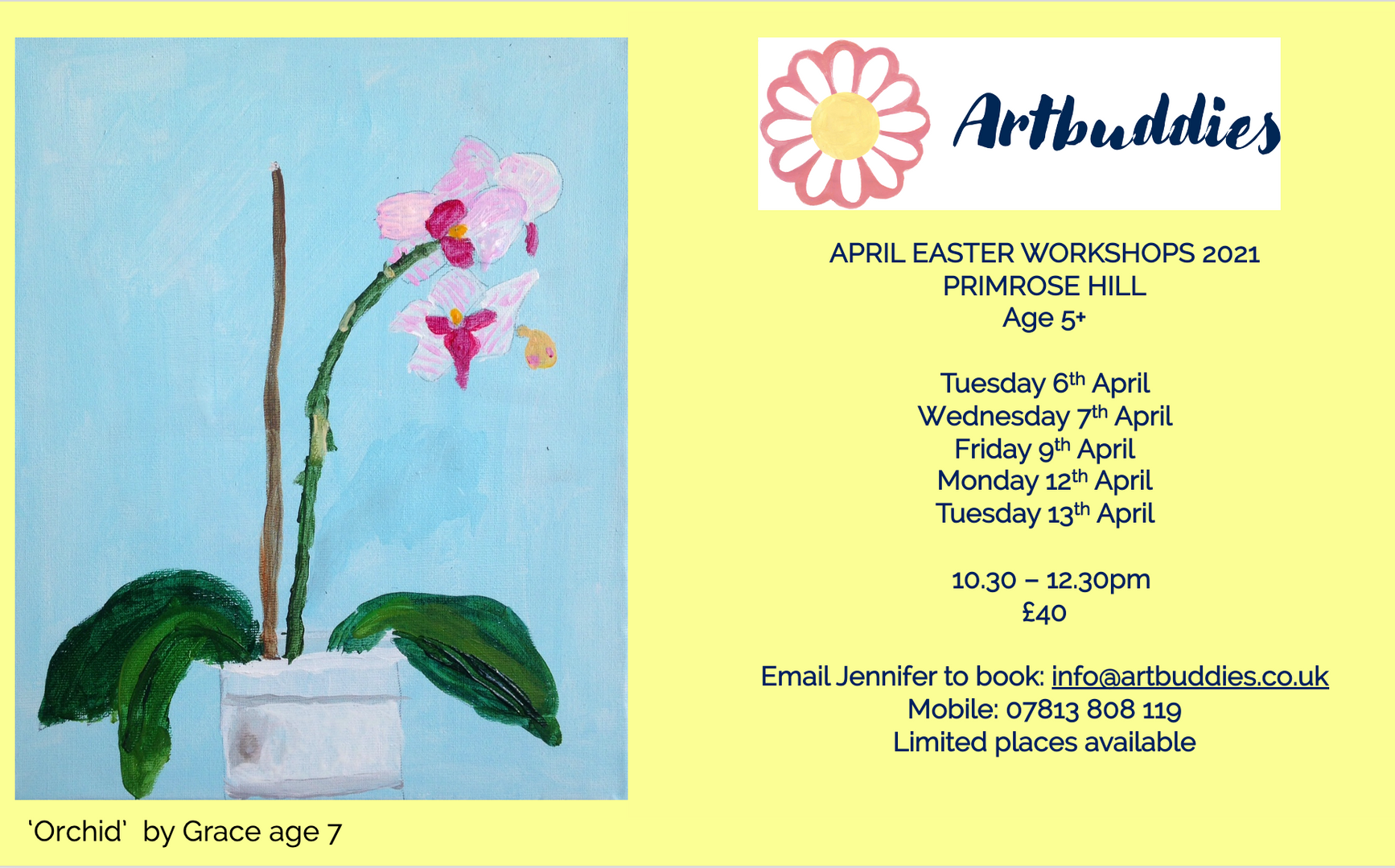Artbuddies Workshops