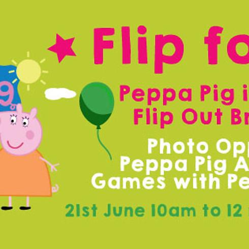 Peppa Pig Joins Mini Flippers Flip at Brent Cross
