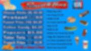Skate Odyssey Menu Board Snacks Jan 24,