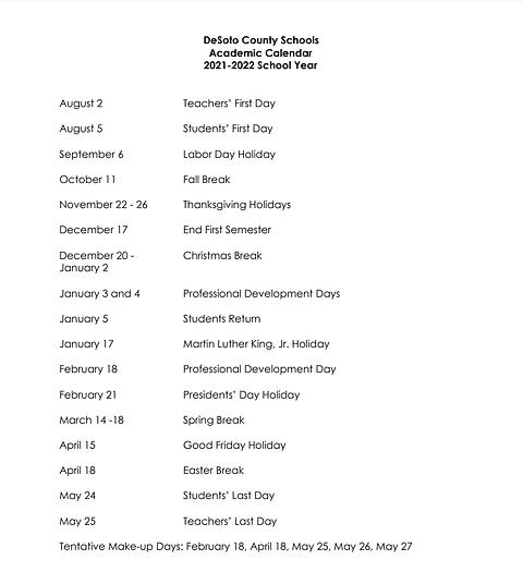 DeSoto County 2021-2022 calendar.png