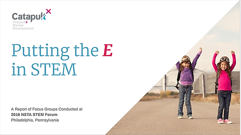 STEMReports cover page