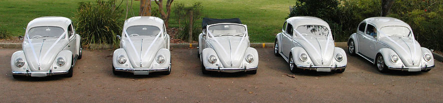 beetle wedding car hire