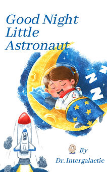 Good Night Little Astronaut EBook Cover